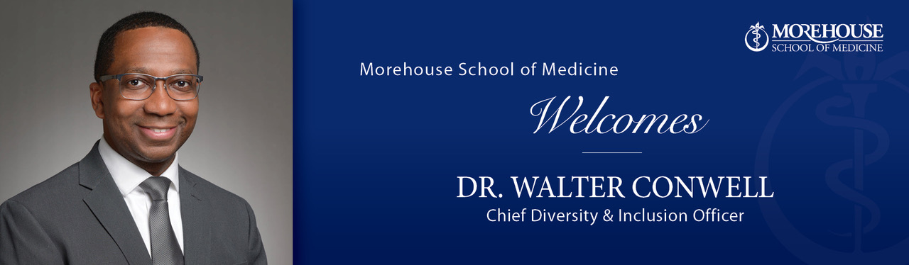 MSM Appoints Dr. Walter Conwell as Inaugural Chief Diversity and Inclusion Officer