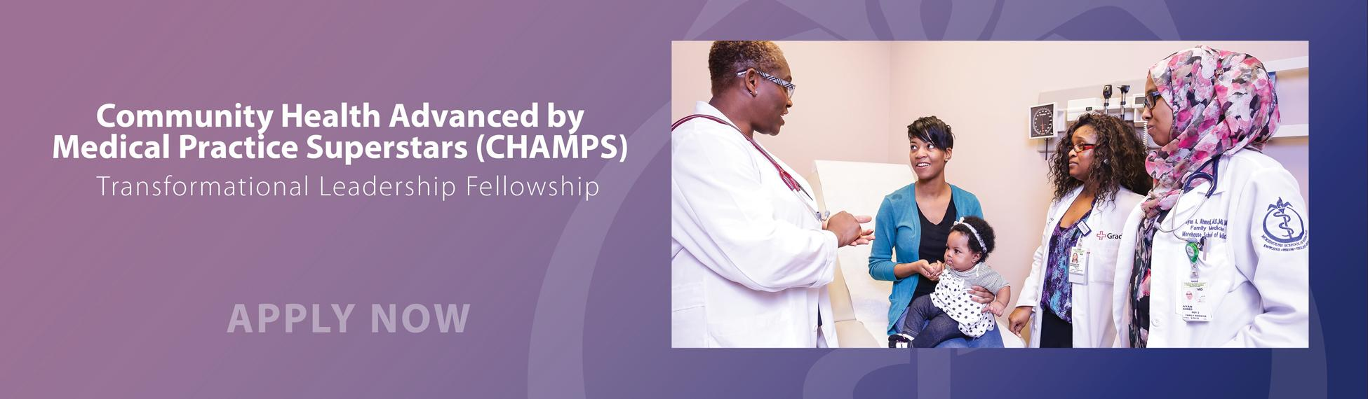 CHAMPS Transformational Leadership Fellowship