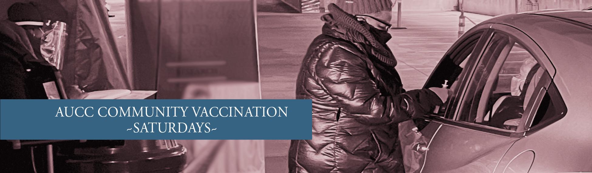 AUCC Vaccination Event