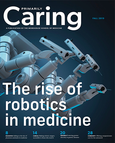 Fall 2019 Primarily Caring Cover features the rise of robotics